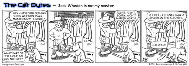 Joss Whedon Is Not My Master