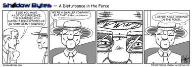 A Disturbance In The Force